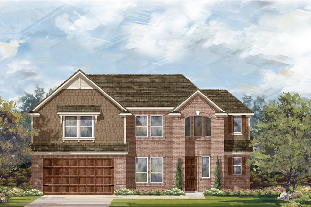 New Homes in Round Rock, TX - Plan L-2915 1