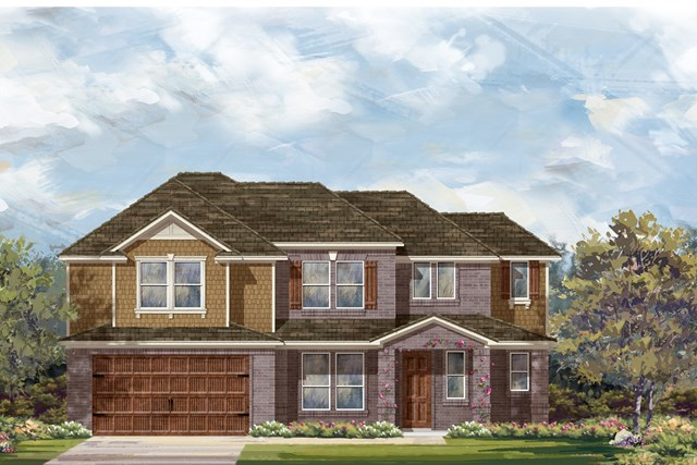 New Homes in Round Rock, TX - Plan L-2915 2