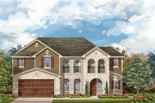 New Homes in Round Rock, TX - Plan L-2915 3