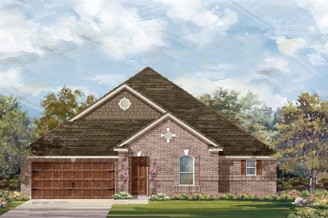 New Homes in Round Rock, TX - Plan L-3005 1