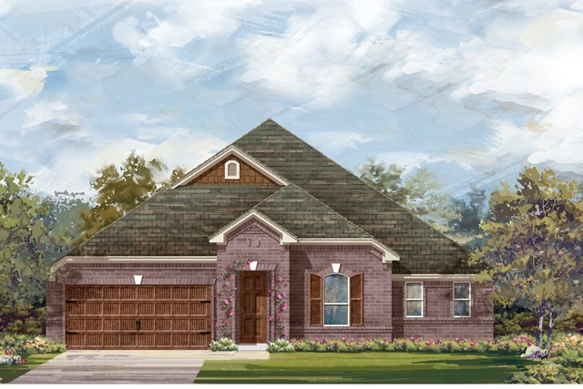 New Homes in Round Rock, TX - Plan L-3005 2