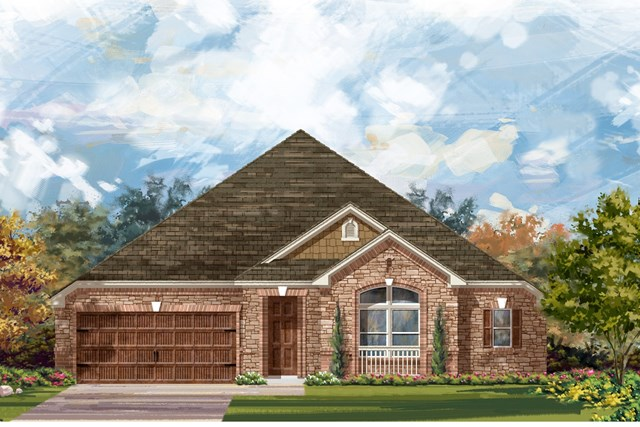 New Homes in Round Rock, TX - Plan L-3005 3