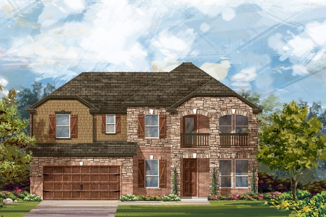New Homes in Round Rock, TX - Plan L-3471 3