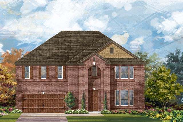New Homes in Round Rock, TX - Plan L-3974 1