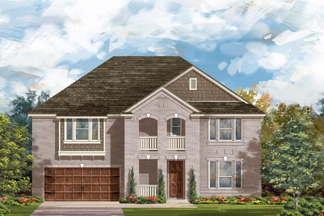 New Homes in Round Rock, TX - Plan L-3974 2