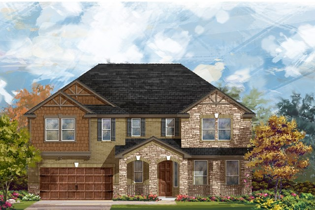 New Homes in Round Rock, TX - Plan L-3974 3