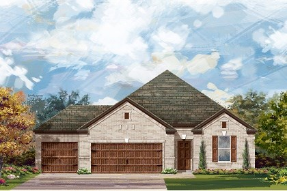 New Homes in Round Rock, TX - Plan A-1965 A