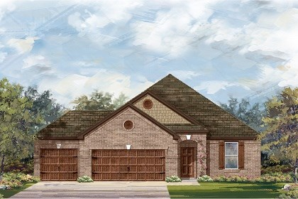 New Homes in Round Rock, TX - Plan A-1965 B