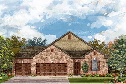 New Homes in Round Rock, TX - Plan A-1965 C
