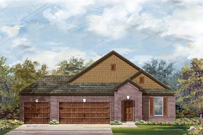 New Homes in Round Rock, TX - Plan A-2089 B