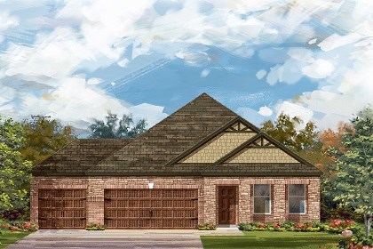 New Homes in Round Rock, TX - Plan A-2089 C