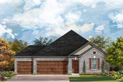 New Homes in Round Rock, TX - Plan A-2382 A