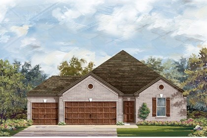 New Homes in Round Rock, TX - Plan A-2382 B