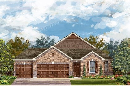 New Homes in Round Rock, TX - Plan A-2382 C