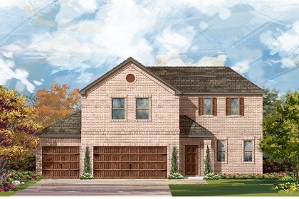 New Homes in Round Rock, TX - Plan A-2502 A