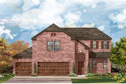New Homes in Round Rock, TX - Plan A-2502 B