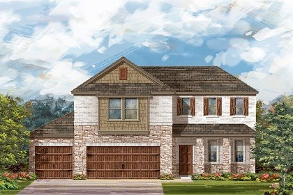 New Homes in Round Rock, TX - Plan A-2502 C
