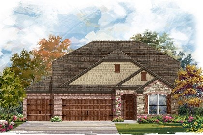 New Homes in Round Rock, TX - Plan A-2655 C