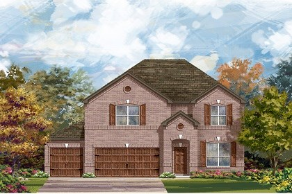 New Homes in Round Rock, TX - Plan A-2755 A