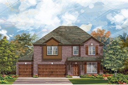 New Homes in Round Rock, TX - Plan A-2755 B