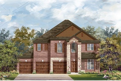 New Homes in Round Rock, TX - Plan A-2755 C
