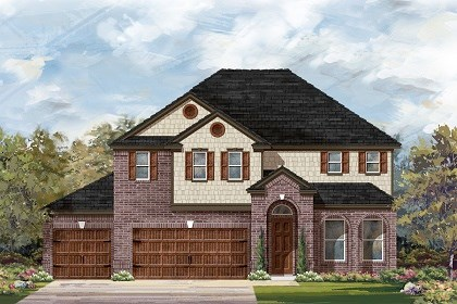 New Homes in Round Rock, TX - Plan A-3023 A