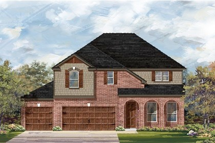 New Homes in Round Rock, TX - Plan A-3023 B
