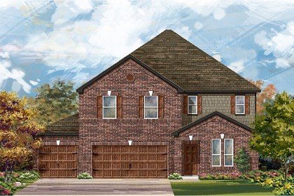 New Homes in Round Rock, TX - Plan A-3475 A