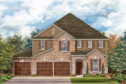 New Homes in Round Rock, TX - Plan A-3475 C
