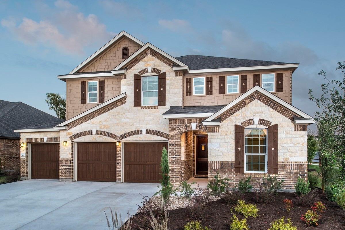 New Homes in Round Rock, TX - Forest Grove - Hallmark Collection Plan A-3475