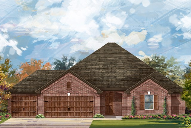 New Homes in Round Rock, TX - Plan L-2325 A
