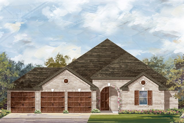 New Homes in Round Rock, TX - Plan L-2325 B