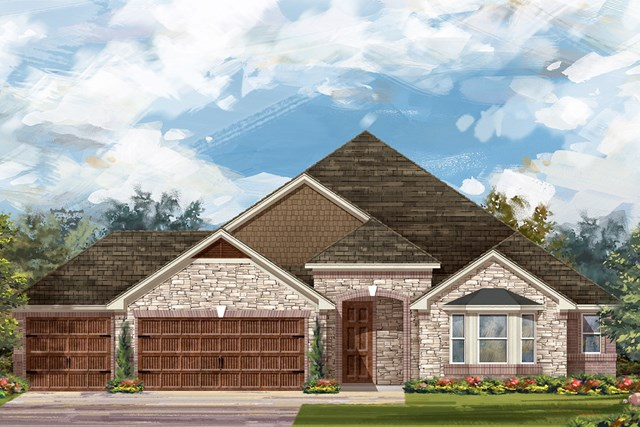 New Homes in Round Rock, TX - Plan L-2325 C