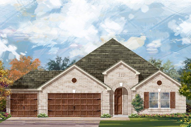 New Homes in Round Rock, TX - Plan L-2334 A