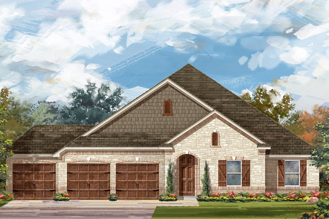 New Homes in Round Rock, TX - Plan L-2598 C