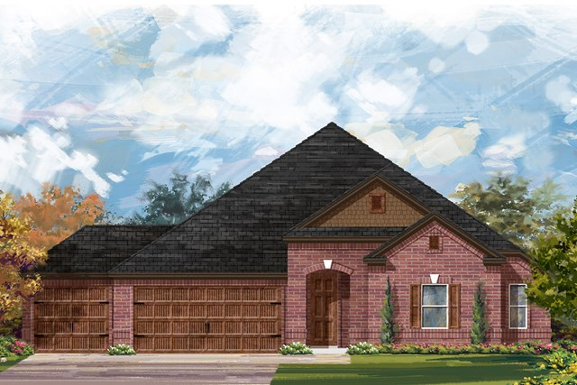 New Homes in Round Rock, TX - Plan 2858 A