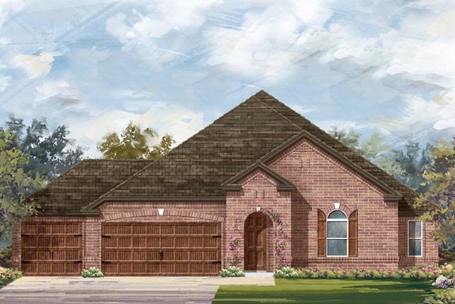 New Homes in Round Rock, TX - Plan 2858 B