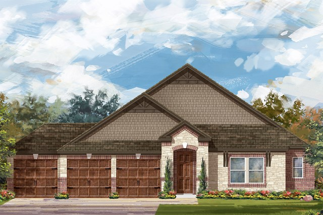 New Homes in Round Rock, TX - Plan 2858 C