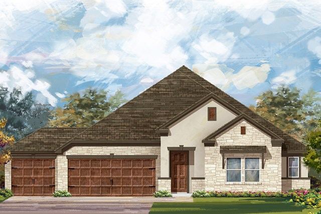 New Homes in Round Rock, TX - Plan 2858 D
