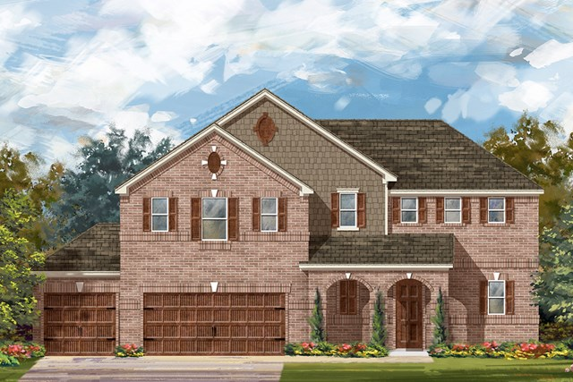New Homes in Round Rock, TX - Plan 2888 A