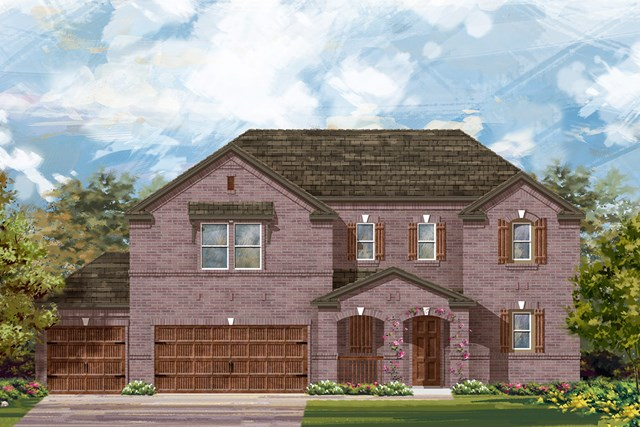 New Homes in Round Rock, TX - Plan 2888 B