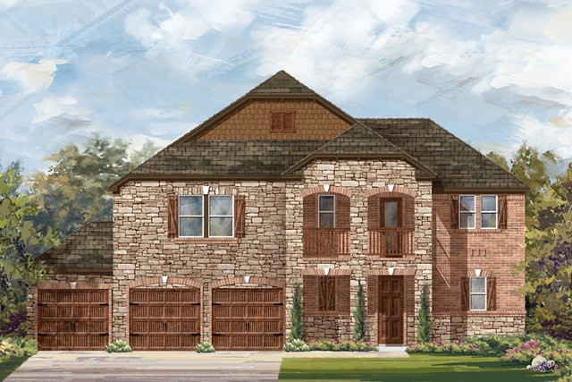 New Homes in Round Rock, TX - Plan 2888 C