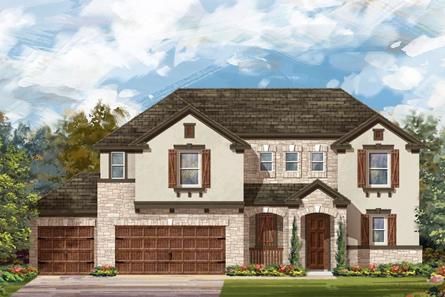 New Homes in Round Rock, TX - Plan 2888 D