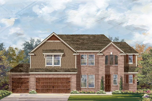 New Homes in Round Rock, TX - Plan L-2915 A