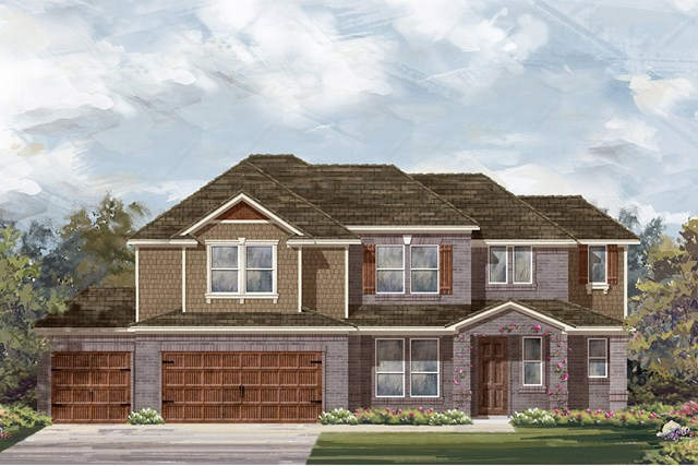 New Homes in Round Rock, TX - Plan L-2915 B
