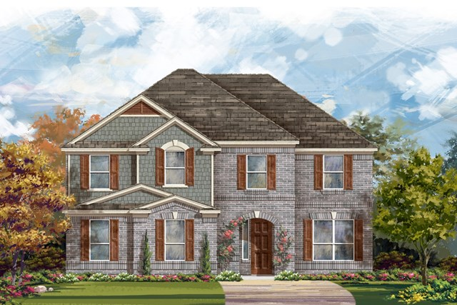New Homes in Round Rock, TX - Plan 3221 A