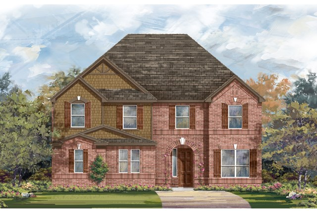 New Homes in Round Rock, TX - Plan 3221 B