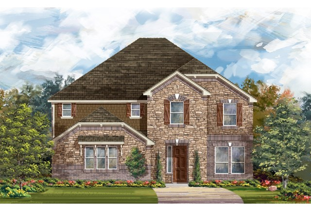 New Homes in Round Rock, TX - Plan 3221 C