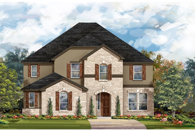 New Homes in Round Rock, TX - Plan 3221 D