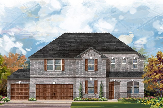 New Homes in Round Rock, TX - Plan 3410 A